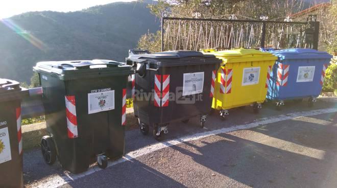riviera24-cassonetti stradali periferia sanremo