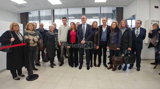 Riviera24- Inaugurazione nuova sede Inps a Sanremo