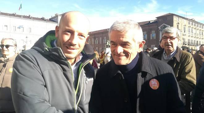 riviera24 - Ioculano (PD) e Toti (FI) in piazza insieme