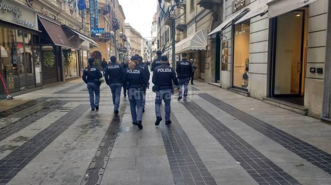 riviera24 - polizia via matteotti sanremo