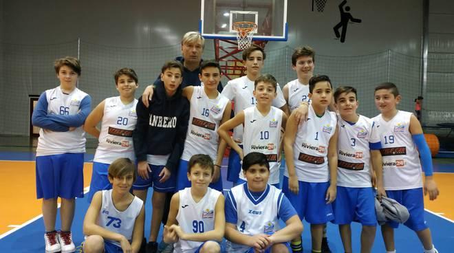 riviera24 -Sea Basket Sanremo under 13