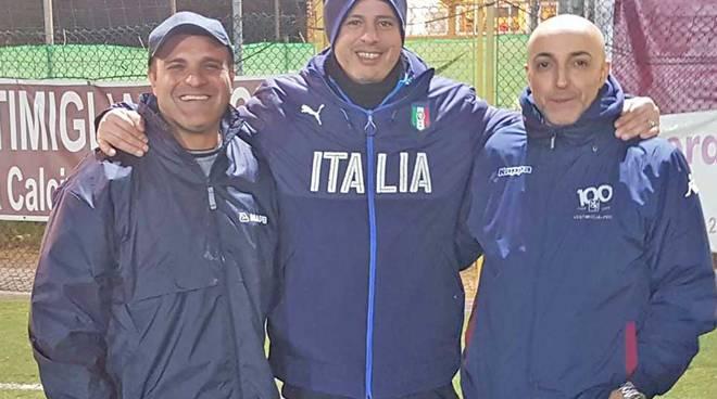 riviera24 - Fabio Luccisano, Marco Dessi e Rocco Del Monte