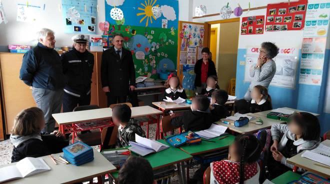 Riviera24- incontro bambini scuola di Caramagna