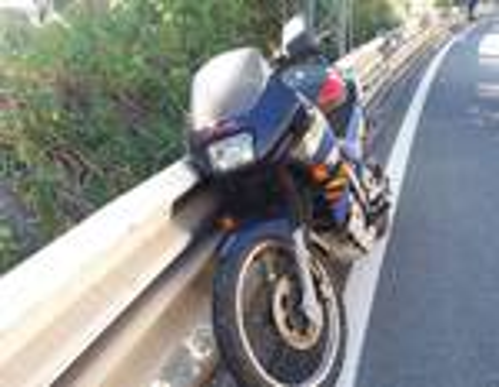 riviera24 - inicidente moto tre ponti