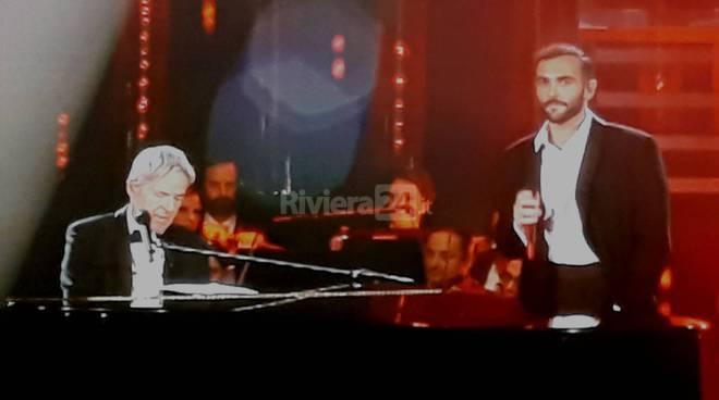 riviera24 - Marco Mengoni e Claudio Baglioni