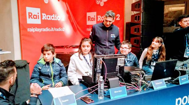 Sanremo, scuola Rubino a Rai Porte Aperte