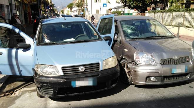 incidente aurelia bordighera