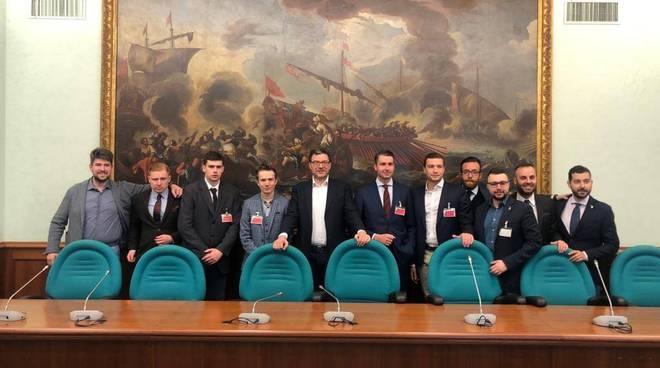 Mentone a Roma meeting destre d'Europa