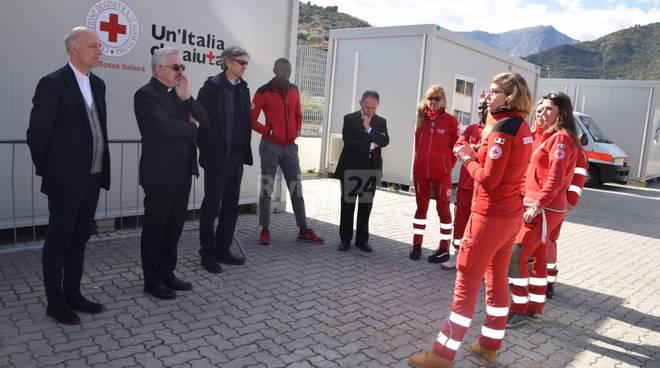Padre Fabio Baggio visita Ventimiglia