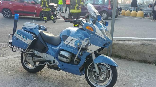 polizia stradale moto