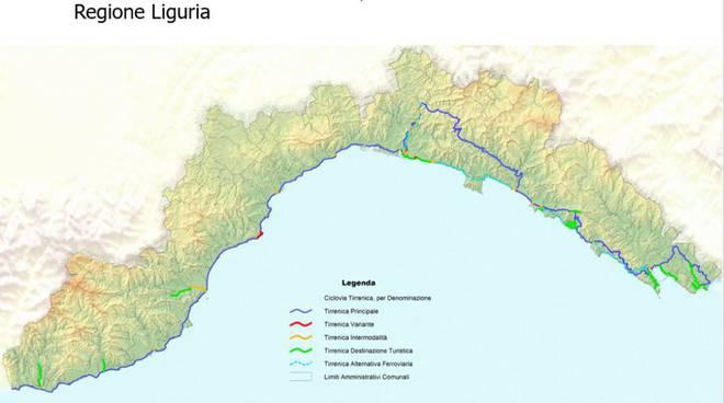 riviera24 - Ciclovia tirrenica