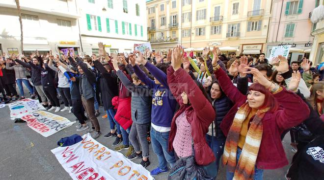 Riviera24-Global strike for climate a Sanremo