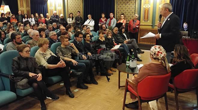 riviera24-Il candidato sindaco Giorgio Tubere si presenta alla cittadinanza