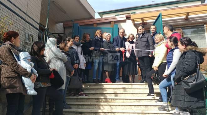 riviera24-L'inaugurazione della scuola Goretti a Baragallo
