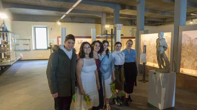 riviera24 - Liceo Aprosio al museo archeologico
