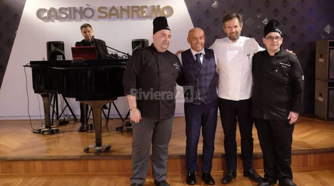 riviera24-Lo chef Carlo Cracco super star al Casinò di Sanremo