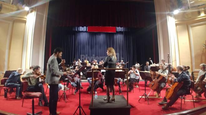 Riviera24- Maria Luisa Macellaro e sinfonica