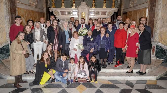 Riviera24- Mirella e Gino 50 anni di matrimonio