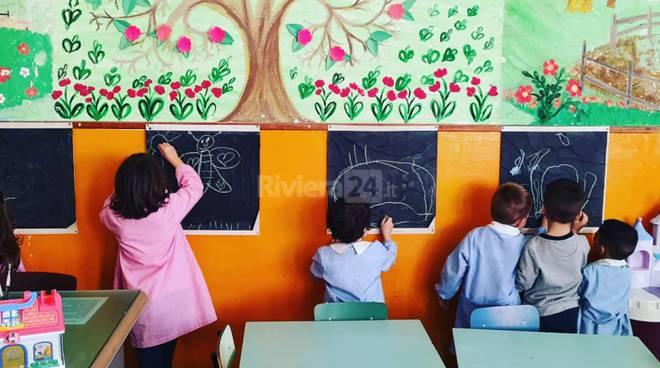 riviera24-Ospedaletti asilo classe Primavera della Lubomirsky