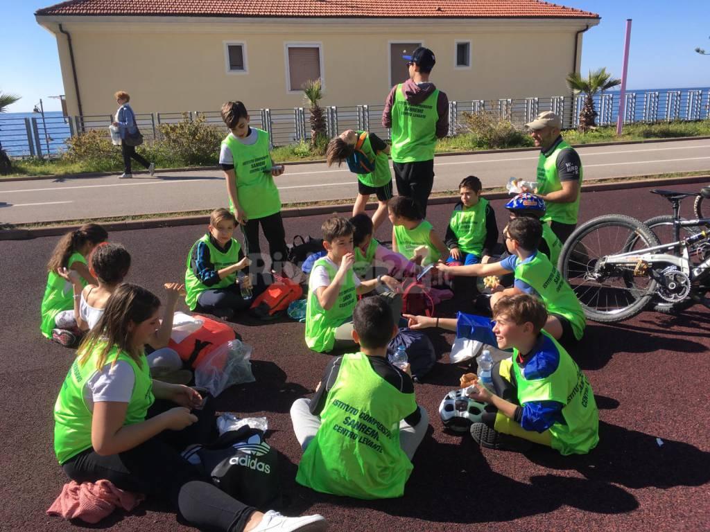 Riviera24- studenti in ciclabile