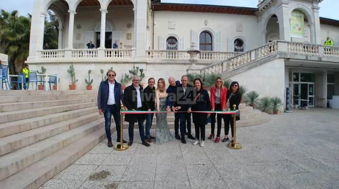 """Riviera24- taglio del nastro di """"Villa Ormond in Fiore"""""""