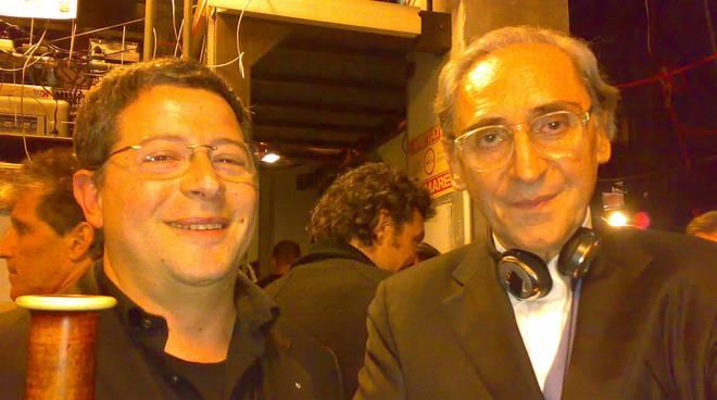 riviera24- Vitaliano Gallo e Franco Battiato