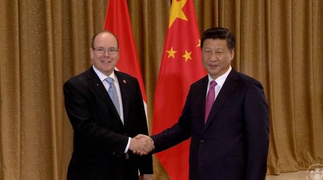riviera24 - Xi Jinping principe alberto