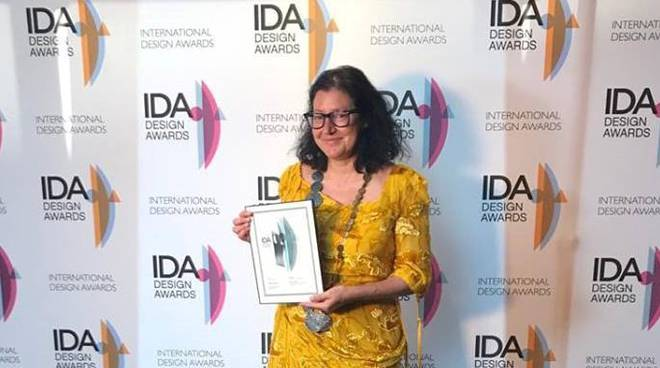 Barbara Amerio all'Internation Design Award