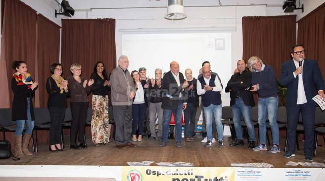 Il sindaco Paolo Blancardi Ospedaletti per Tutti lista