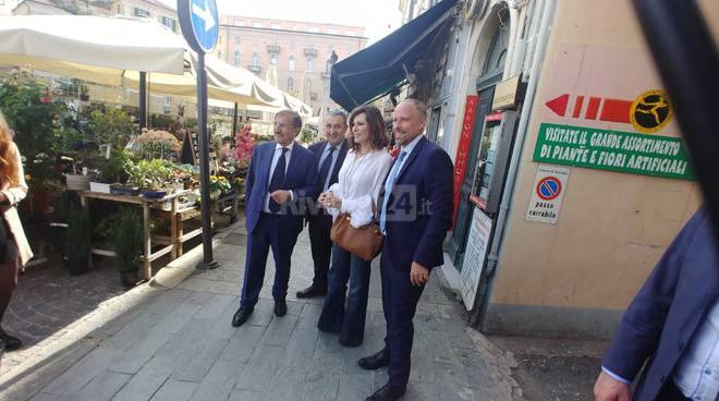La Russa e Santanchè a Sanremo