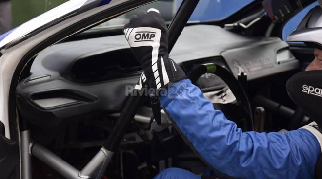 Rallye Sanremo prova speciale a Portosole