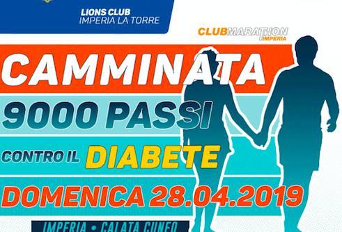 Riviera24- 9000 passi contro il diabete