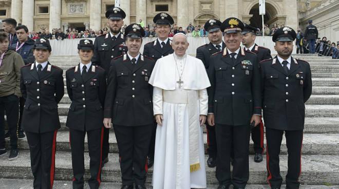 riviera24 - Carabinieri da Papa Francesco