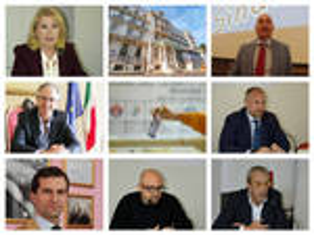 riviera24 - collage candidati sindaco 2019
