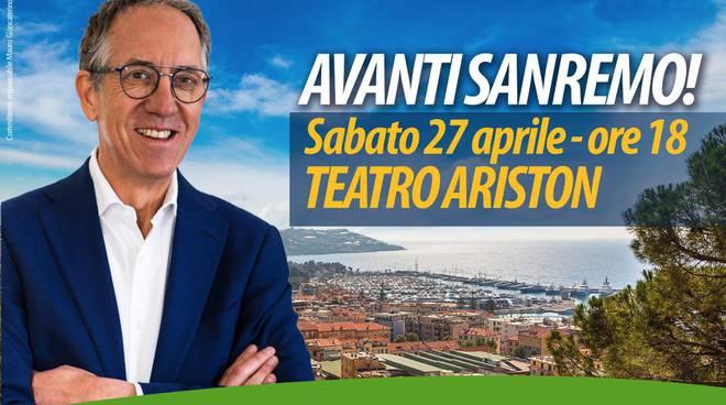 riviera24 - Convention della coalizione a sostegno di Alberto Biancheri