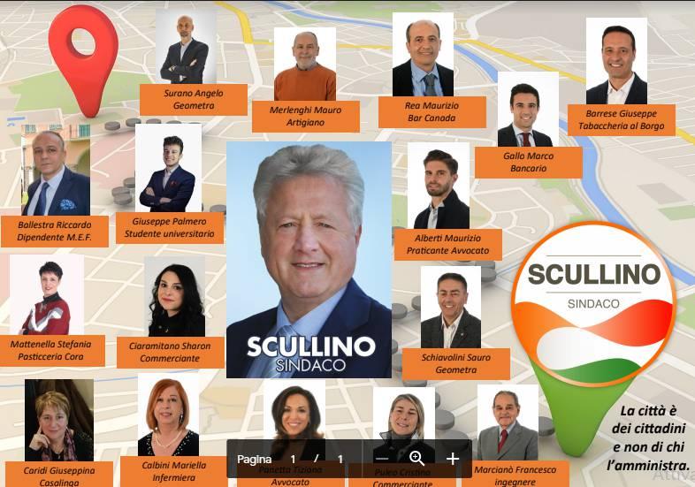 riviera24 - lista Scullino Sindaco