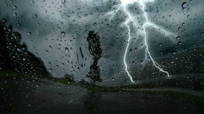 riviera24 - pioggia temporale