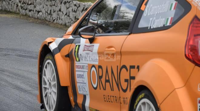 riviera24 - Rallye Sanremo prova speciale a Portosole