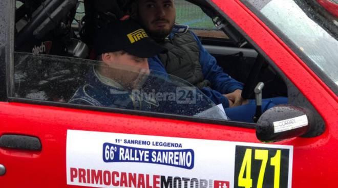 riviera24 - Samuele Della Torre  Lorenzo Dumarte rallye sanremo