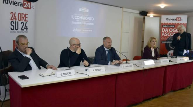 riviera24  - Sanremo, dibattito tra candidati sindaco