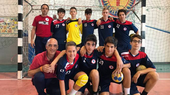 riviera24 - Under 15 maschile del Team Schiavetti Pallamano Imperia