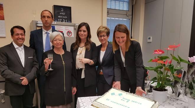Sanremo, agenzia 3 Banca Carige 25 anni di attività