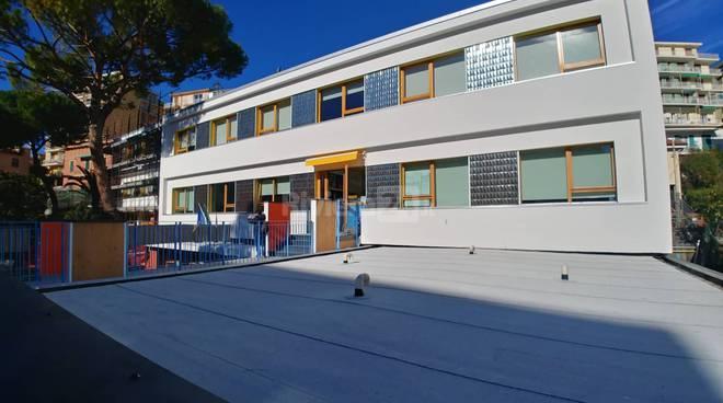 Sanremo, inaugurazione scuola Dani Scaini
