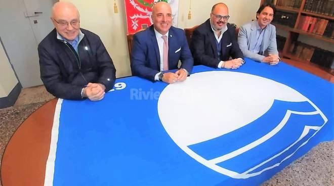 bandiera blu riva ligure giuffra berrino