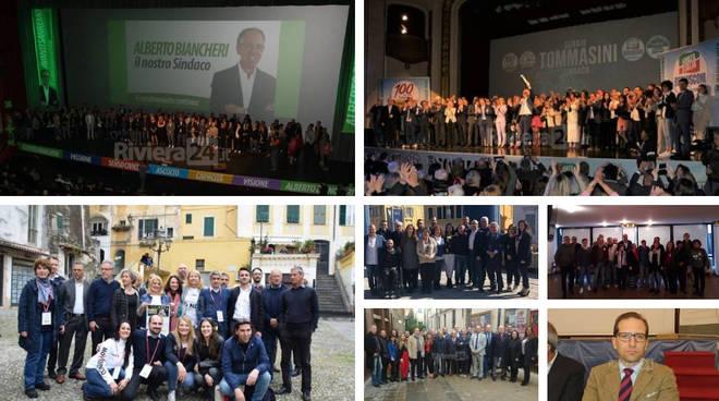 Candidati Consiglieri Sanremo - collage