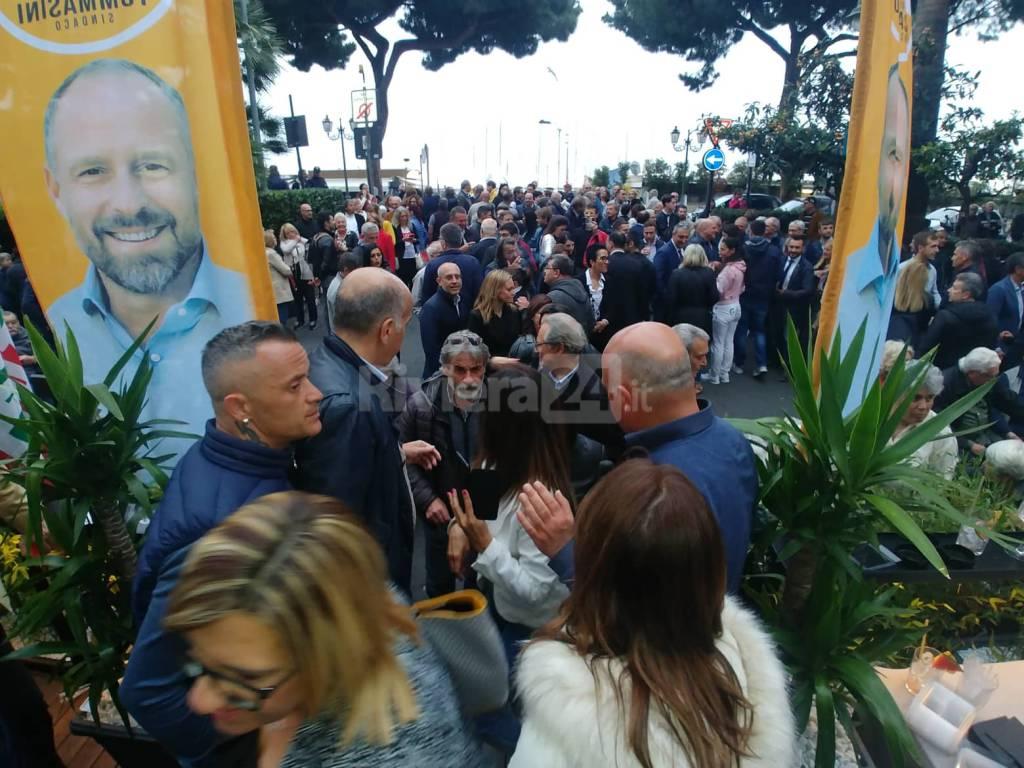 Chiusura campagna elettorale di Sergio Tommasini