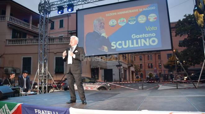 Gaetano Scullino campagna elettorale