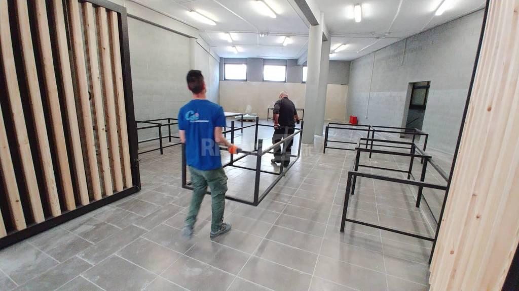Il trasferimento degli stand da piazza Eroi all'annonario