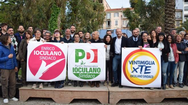 Ventimiglia, Enrico Ioculano si prepara al 'bis' e presenta la sua squadra (fotogallery)