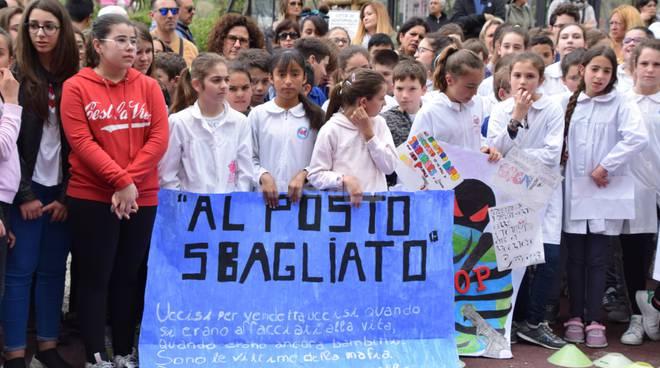 manifestazione contro mafie